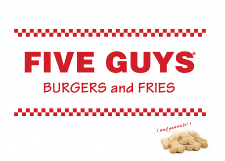 Courtesy of Five Guys Restaurants