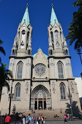 5 things to do in Sao Paulo Brazil including Metropolitan Cathedral