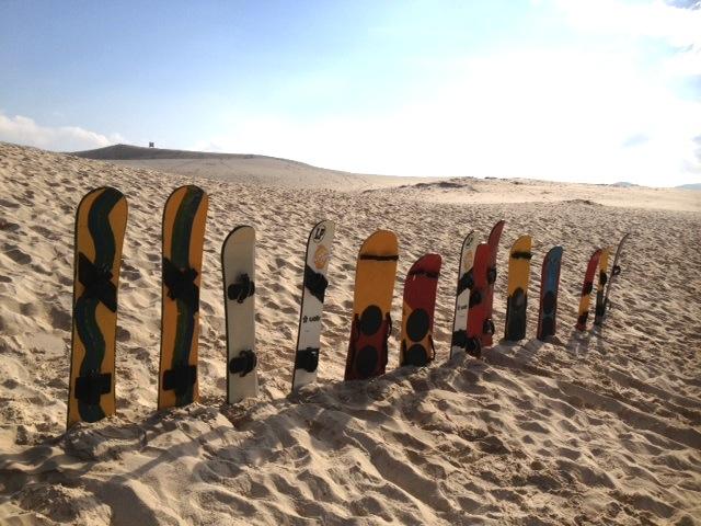 sandboarding in Latin America