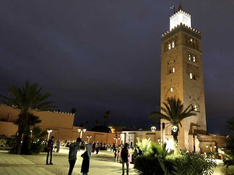 Things to do in Marrakech - visit Koutoubia Mosque Marrakech