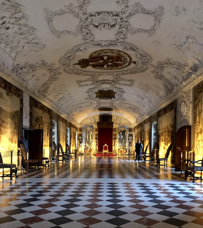 The Great Hall, Rosenborg Castle